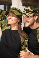 Čepice s kšiltem Malfini CAMO LATINO