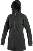 Dámský softshellový kabát CXS ORLEANS, černý