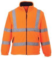 Bunda Hi - Vis fleece reflexní, oranžová