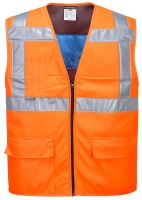 HiVis ochlazující vesta, oranžová