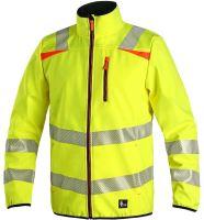 Výstražná bunda CXS HOVE, žlutá