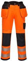 Kalhoty HiVis PW3 Holster, oranžovo-černé