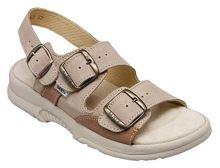 Zdravotní sandál Santé pánský,  béžovo-hnědý