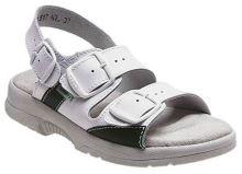 Zdravotní sandál Santé dámský, bílý