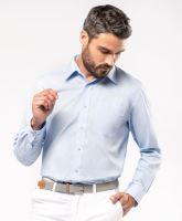 Pánská košile dl. rukáv KARIBAN JOFREY