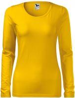 Tričko dámské dlouhý rukáv SLIM
