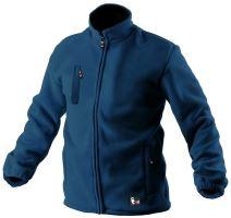 Bunda fleece OTAWA, modrá
