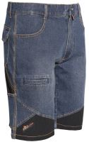 Bermudy ISSA Jeans EXTREME, modré