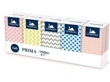 Papírové kapesníky LINTEO SATIN 10 x 10 ks