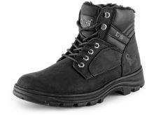 Kotníková obuv zateplená ROAD INDUSTRY, černá