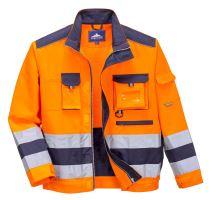 Bunda Hi-Vis Lille, oranžovo-modrá
