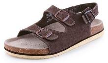 Sandál korkový dámský CORK FILL, hnědý