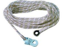 Bezpečnostní lano AC101 s 1 karabinou, délka 20m