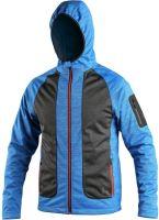 Softshellová bunda CXS DAYTON, modro-šedá