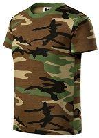 Dětské triko Malfini CAMOUFLAGE