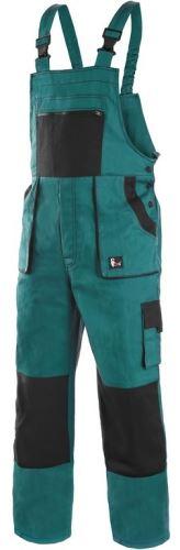 Kalhoty s laclem zateplené CXS LUXY MARTIN, zeleno-černé