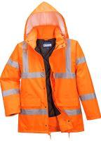 Prodyšná bunda Hi-Vis RIS, oranžová