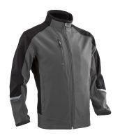 Softshellová bunda TORI, šedo-černá