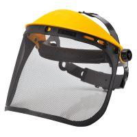 Ochranný štít obličeje s mřížkou