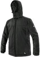 Zimní softshellová bunda CXS VEGAS, černá