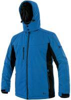 Zimní softshellová bunda CXS VEGAS, modro-černá