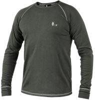 Funkční triko ACTIVE s dlouhým rukávem, šedé