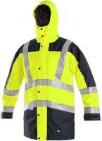 Výstražná bunda 5 v 1 LONDON, žluto-modrá