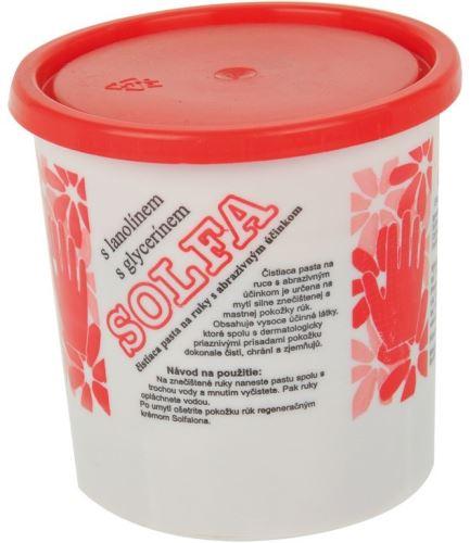 SOLFA pasta na ruce