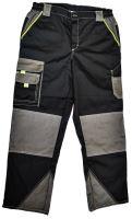 Kalhoty do pasu odlehčené, PÁNSKÉ, Sigma RipStop, černo-šedé