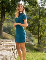 Dámské exkluzivní polo šaty DRESS UP Malfini Premium