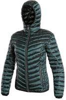 Dámská zateplená bunda s kapucí OCEANSIDE, tmavě zelená