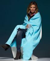 Fleecová deka s prostřihy JN 957, 120x150cm