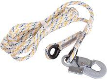 Pomocné lano LP100 s 1 karabinou, délka 2,5m