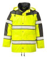Reflexní bunda CLASSIC, žluto-černá