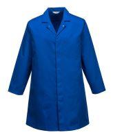 Pánský potravinářský plášť, středně modrý