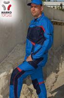 Blůza MARKO TOP CLASS, azurově modrá