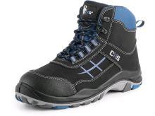 Kotníková obuv CXS DOG BOXER S1, modro-černá