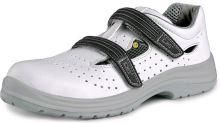 Sandál s ocelovou špicí CXS PINE S1 ESD, bílý