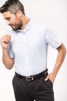 Košile pánská KARIBAN OXFORD krátký rukáv