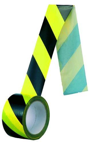 Samolepící páska protisměrná, žlutočerná 60mm 3000-22