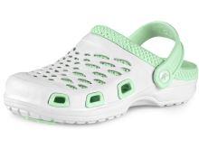 Nazouvák CXS TREND dámský, bílo-zelený