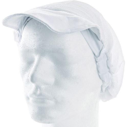Kochařská čepice s kšiltem NELA