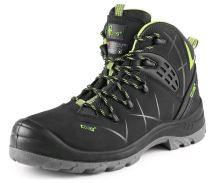 Kotníková obuv zimní CXS UNIVERSE SATELLITE S3, černo-zelená