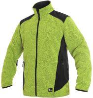 Pánská bunda z pleteniny GARLAND, zelená