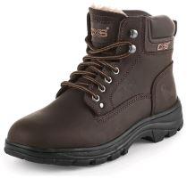 Zimní obuv kotníková CXS ROAD GRAND WINTER, hnědá