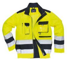 Bunda Hi-Vis Lille, žluto-modrá