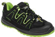 Sandál ADM ALEGRO S1P ESD GREEN, černo-zelený