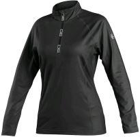 Dámská mikina/triko CXS MALONE, černá